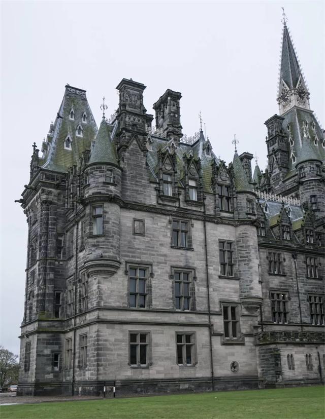 黑焰学习素材   800 苏格兰哥特式建筑
