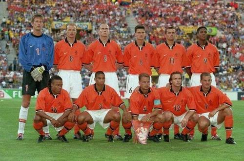 1998年世界杯的荷兰队